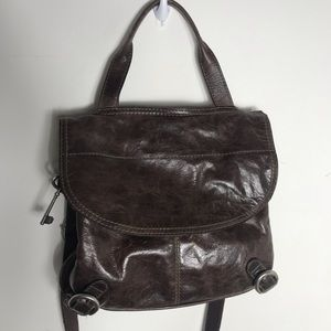 Fossil Crossbody messenger Brown bag